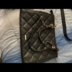 Black women shoulder bag